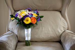 Bouquet from Maureen's Wholesale | Wendy Mitchell Photography | Buffalo Wedding Photography
