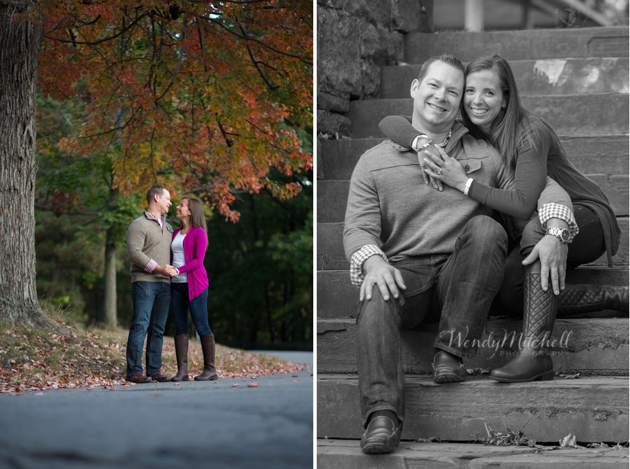 Jason Jacquelyn Engaged Buffalo Wedding Photography Wendy - 10 portrait photos of people before after the photographer kissed them