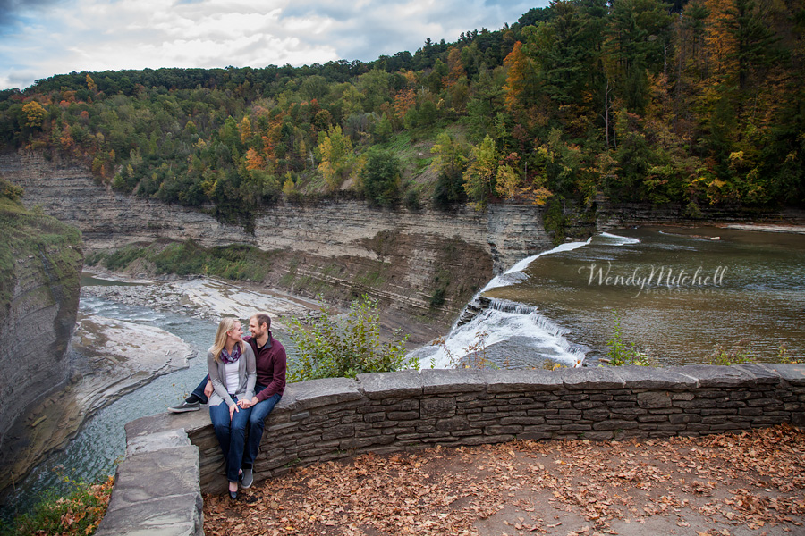 Casey & Leah – Engaged! | Letchworth State Park | Finger Lakes ...