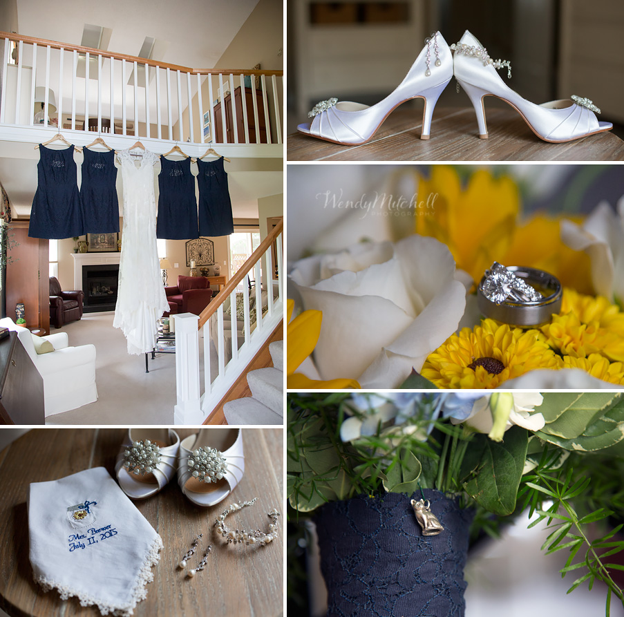 Bride's details at her mother's house | Buffalo Wedding Photography | Wendy Mitchell Photography