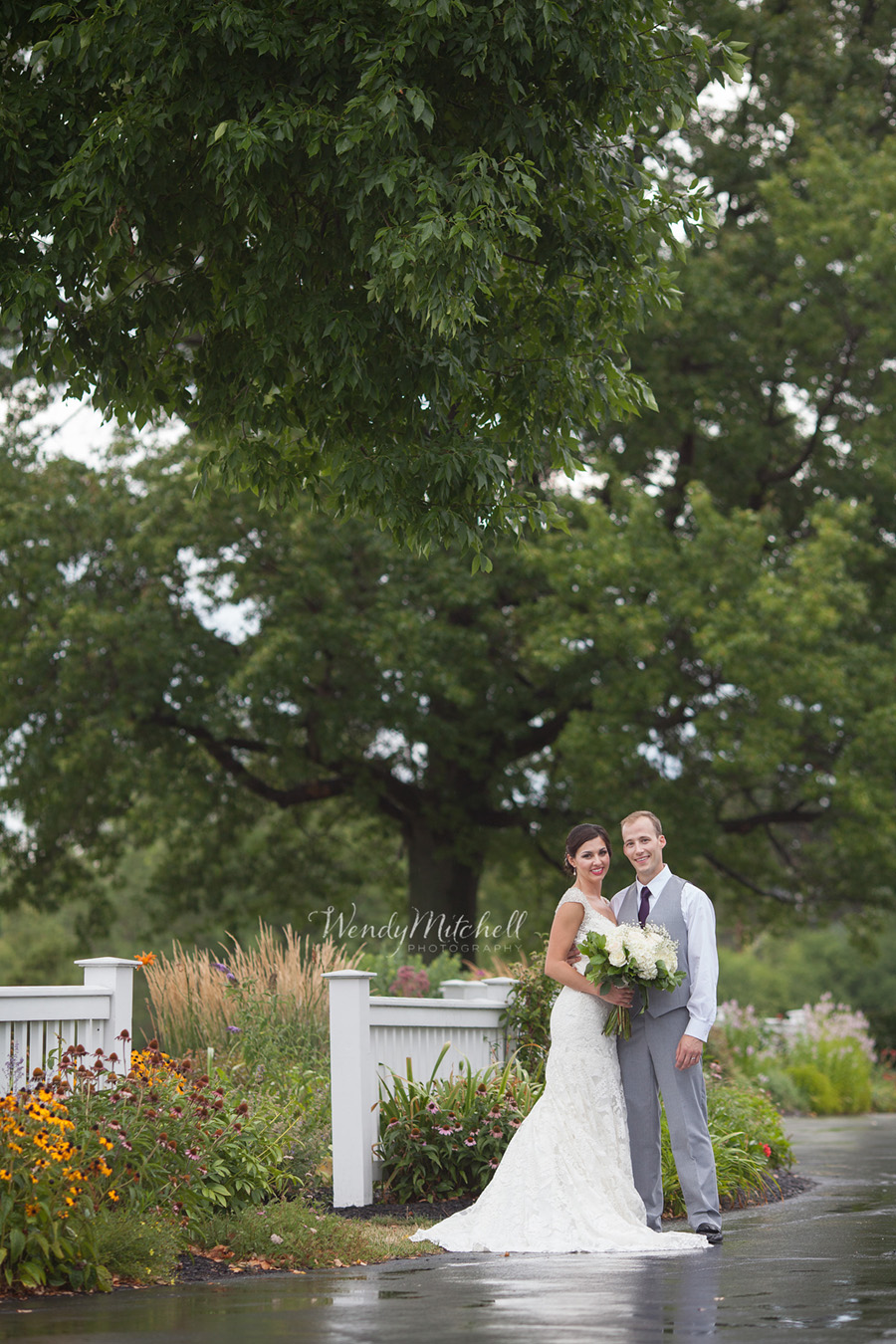 Bride & Groom at Wanakah Country Club | Buffalo Wedding Photography | Wendy Mitchell Photography