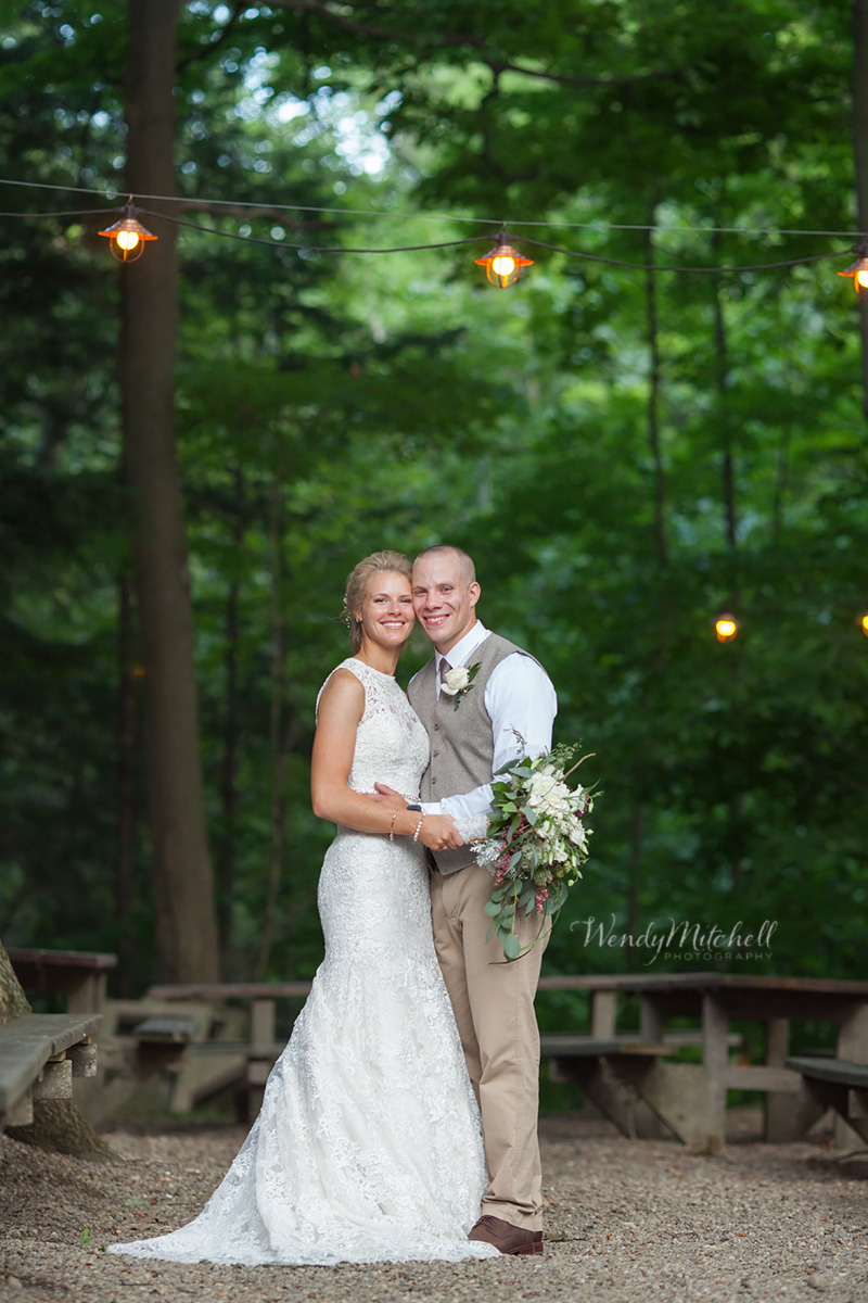 Bride & Groom at Spring Garden Association | Buffalo Wedding Photography | Wendy Mitchell Photography